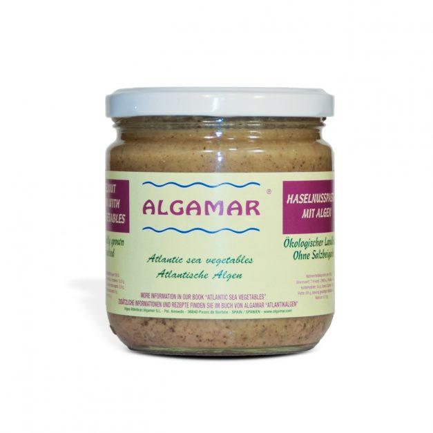 Haselnusspaste mit Algen