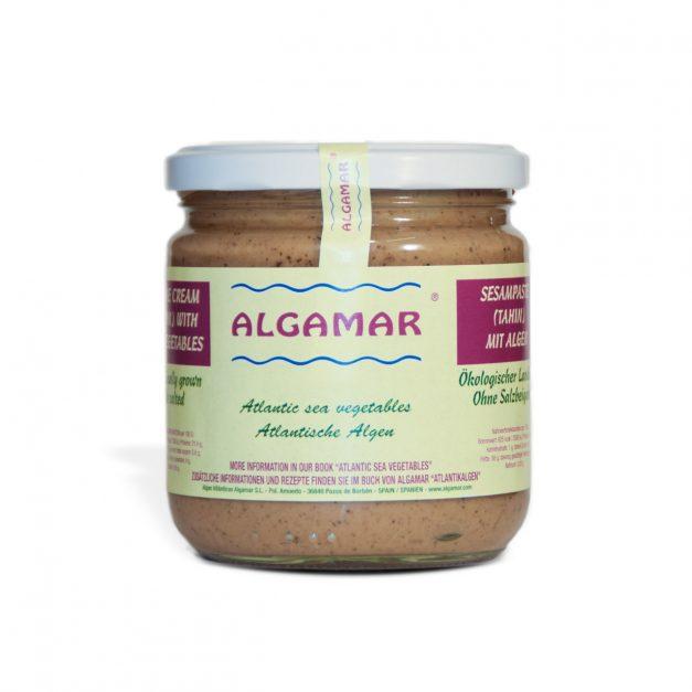 Sesampaste (Tahin) mit Algen
