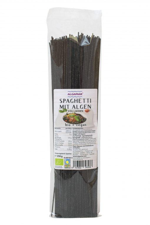 Spaghetti mit Algen
