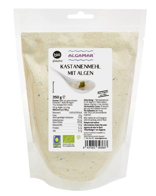 Kastanienmehl mit Algen