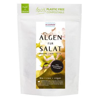 productfoto zeewier voor salade 100g voorkant