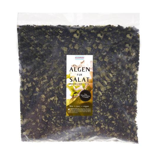 Produktfoto Algen für Salat 1Kg Vorderseite