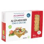 Produktfoto 160g Packung Algamar Algen Kräcker mit Tomate und Chia
