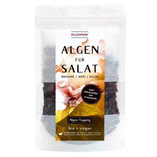 Produktfoto Algen für Salat Topping 25g Vorderseite