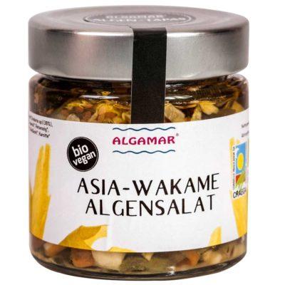 Produktfoto 160g Glas Algamar Asia-Wakame-Salat