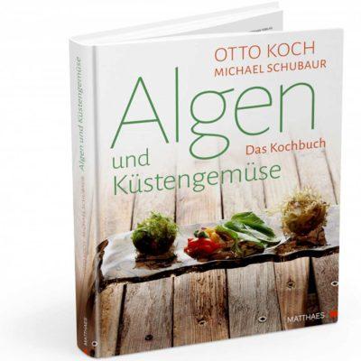 Produktfoto Titelbild Buch Algen und Küstengemüse. Das Kochbuch