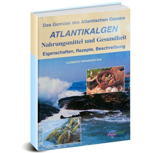 Produktfoto Titelbild Algamar Buch über Atlantikalgen: Nahrungsmittel und Gesundheit
