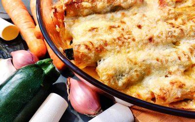 Cannelloni-Auflauf mit Wakame