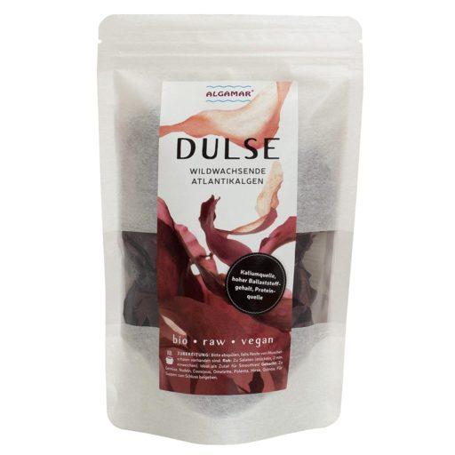 Produktfoto Algamar Dulse Algen (Lappentang) 25g Packung Vorderseite