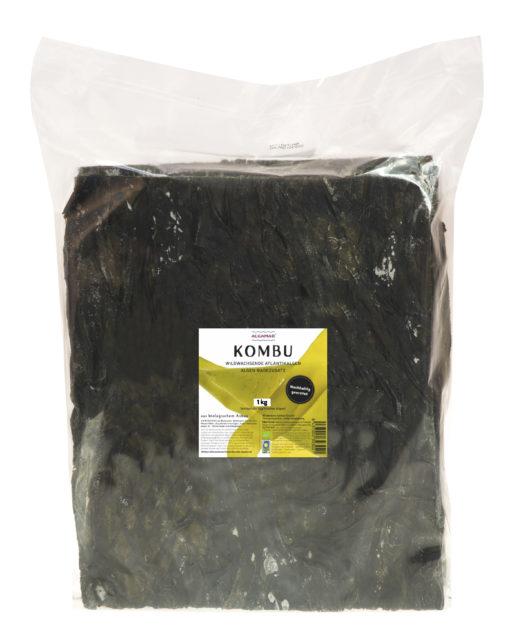 Produktfoto Algamar Kombu Algen für Bad 1000g Packung Vorderseite