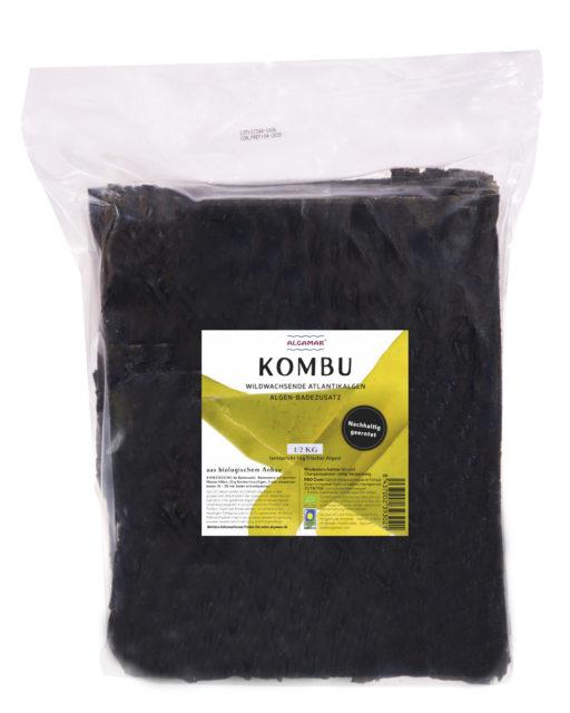 Produktfoto Algamar Kombu Algen für Bad 500g Packung Vorderseite