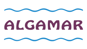 Logo der Firma Algamar ~ Meereslagen aus Galizien