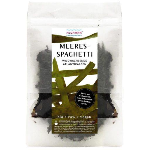 Produktfoto Algamar Meeresspaghetti Algen 25g Packung Vorderseite