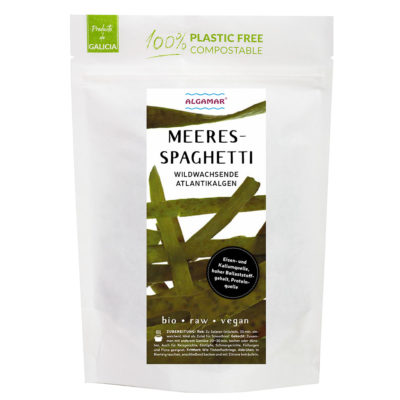 Produktfoto Algamar Meeresspaghetti Algen Vorderseite