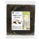 Produktfoto Algamar Noriblätter für Sushi 25g Packung Vorderseite