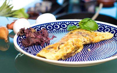 Omelett mit Dulse Algen