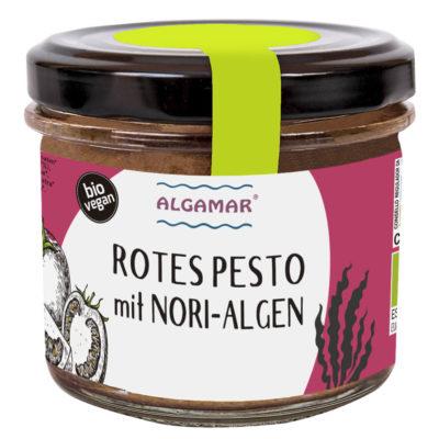 Produktfoto Rotes Pesto mit Nori-Algen 100g
