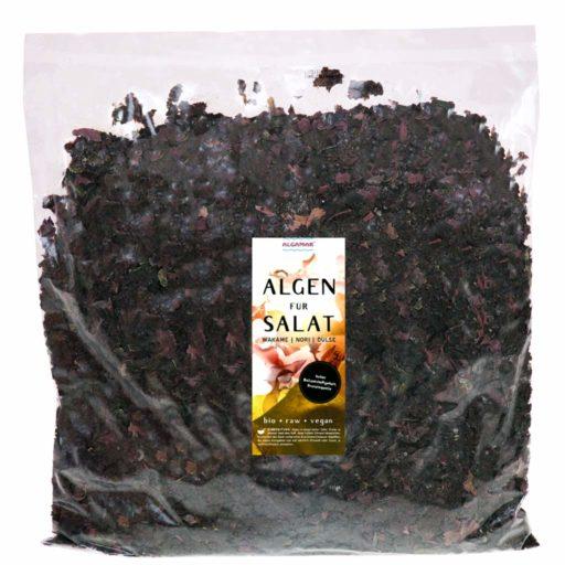 Produktfoto Verpackung Algamar Algen für Salat 1000g Packung Vorderseite