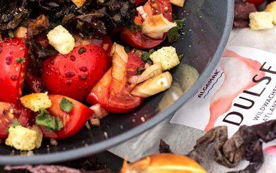 Algen-Tomatensalat mit Dulse