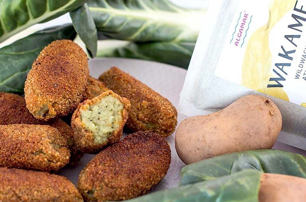 Vegane Wakame Kroketten – Vischstäbchen