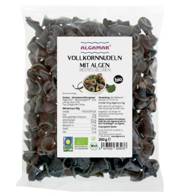 Produktfoto Algamar Meeresblumen Vollkornnudeln