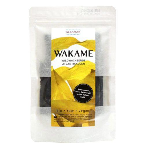Produktfoto Algamar Wakame Algen 25g Packung Vorderseite