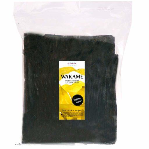 Produktfoto Algamar Wakame Algen 500g Packung Vorderseite