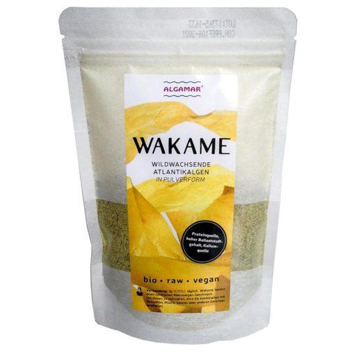 Produktfoto Algamar Wakame Algen Pulver 150g Packung Vorderseite