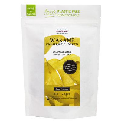 Produktfoto Wakame knusprige Flocken Algen-Topping Vorderseite