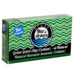 Produktfoto Verpackung gekochte Codium Alge von Mar de Ardora