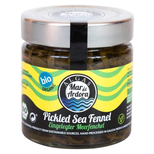 Produktfoto 180g Glas eingelegter Meerfenchel von Mar de Ardora