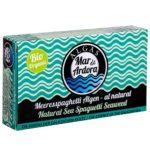 Produktfoto Verpackung gekochte Meeresspaghettialgen al Natural Alge von Mar de Ardora